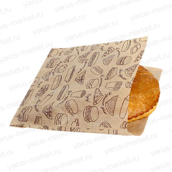 Уголок бумажный для фасовки печенья