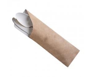 Плотный крафт-конверт для столовых приборов