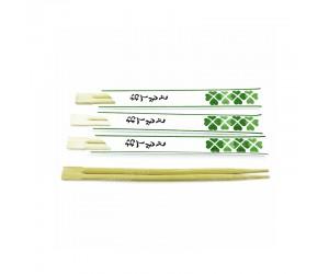 Бамбуковые палочки для суши, в бумажной упаковке, 23 см