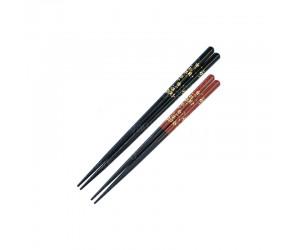 Японские палочки для еды, 25 см, бамбук,пластик