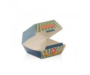 Коробка для бургера, 120×120×70мм