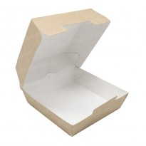 Коробка для бургеров из крафт-картона
