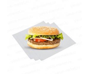 Вощеная обертка для бургеров 25x33 см