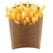 Коробка для картофеля фри, 34×75×100мм