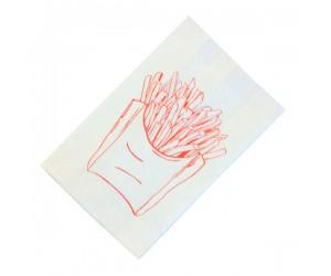 Пакет бумажный для картофеля фри, 175×110×50мм