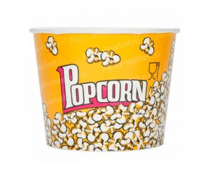 Бумажное ведро для попкорна