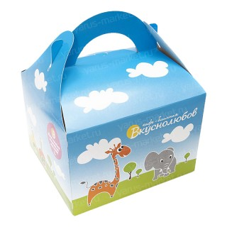 Коробка детская картонная