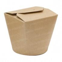 Коробка для лапши WOK, 500мл, из крафт-картона