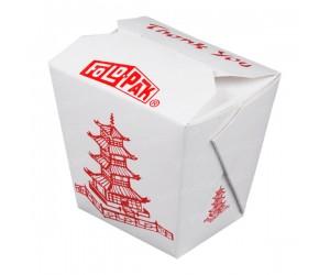 Коробка для лапши WOK, 750 мл, с печатью