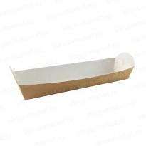 Коробка-поднос для багета из крафт-картона