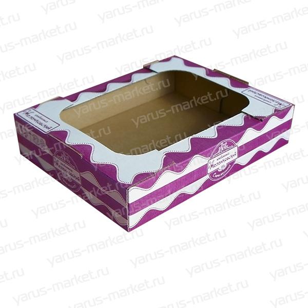 Картонная коробка «телевизор» для кондитерских изделий