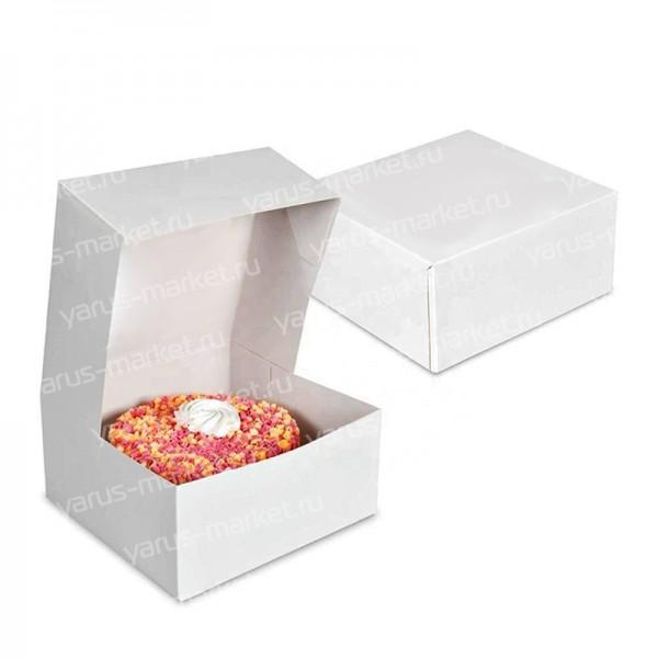 Самосборный короб для торта