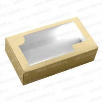 Картонная коробка 17,5×10×5 см для кондитерских изделий