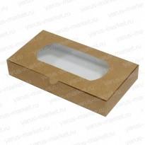 Картонная коробка 24×13×4 см для кондитерских изделий