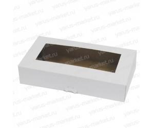 Картонная коробка 24×13×5см для кондитерских изделий