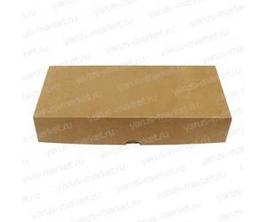 Картонная коробка 28×12×5,3 см для кондитерских изделий