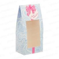 Фигурная картонная коробочка для выпечки, десертов