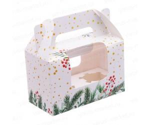 Картонная фигурная коробка 100x160x80мм