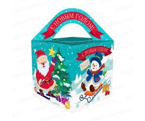 Фигурная подарочная коробочка для кондитерских изделий