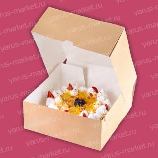 Картонная упаковка для кондитерских изделий