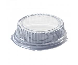Круглый короб для пирогов с ребристой крышкой
