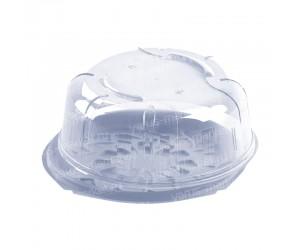 Круглый короб с куполом под обечайку