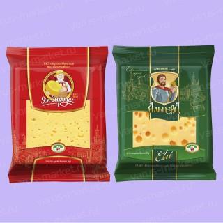 Упаковка флоупак для сыра