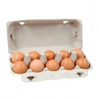 Бумажный контейнер для 10 куриных яиц