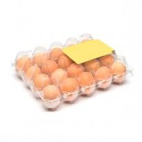 Упаковка для куриных яиц, 20 ячеек, пластиковая