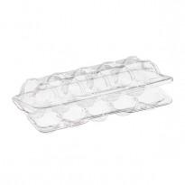 Контейнер для 10 перепелиных яиц пластиковый 167х85х40мм