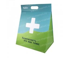 Упаковка саквояж для презентации образцов