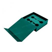 Коробка для фармацевтических образцов с магнитным клапаном