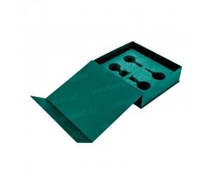 Коробка для формацевтических образцов с магнитным клапаном