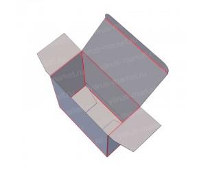 Картонная коробка на одну склейку для фармацевтики