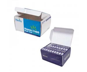 """Картонная коробка """"Самолет"""" для фармацевтики"""