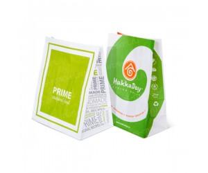 Крафт пакет с логотипом без ручек