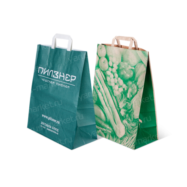 Крафт-пакеты с печатью