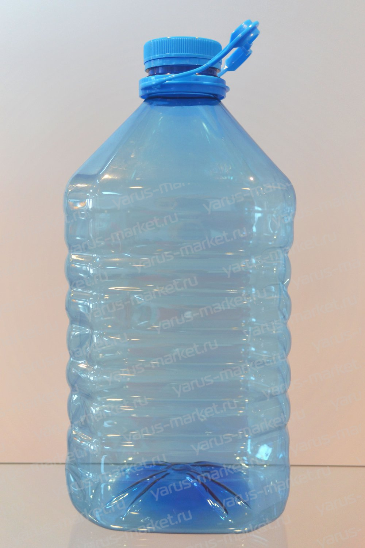 Бутылка из ПЭТ, 5 л.