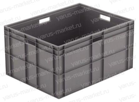 Пластиковый ящик, 800х600х455 мм., для транспортировки фруктов