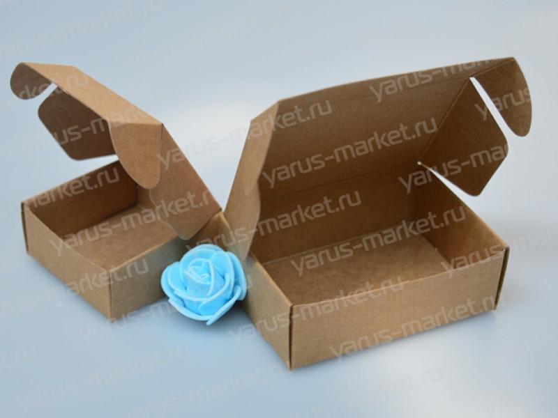 Короб с откидной крышкой для продуктов питания, парфюмерии
