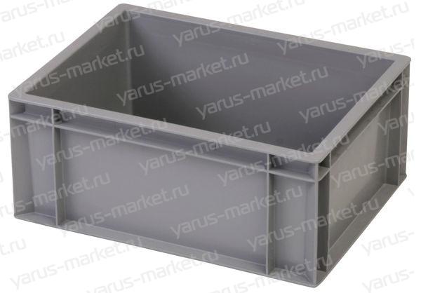 Складской ящик 400х300х175 с гладким дном