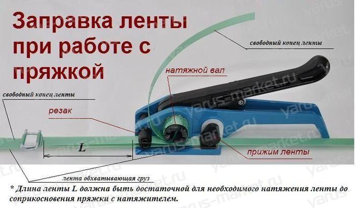 Натяжитель B330 для ПП и ПЭТ ленты