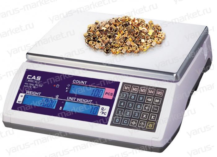 Электронные весы CAS