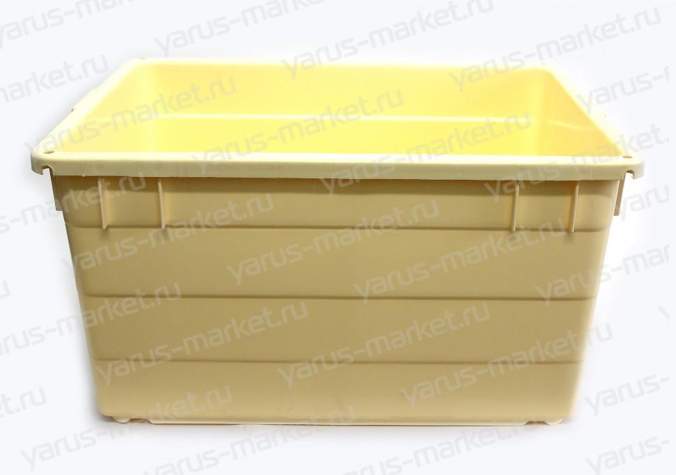 Универсальный вкладываемый ящик, 780х550х420 мм., для мяса, рыбы, овощей