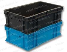 Пластиковый ящик, 590х360х180 мм., сырково-творожный