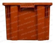 Пластиковый ящик 600x400x300 для замороженных продуктов