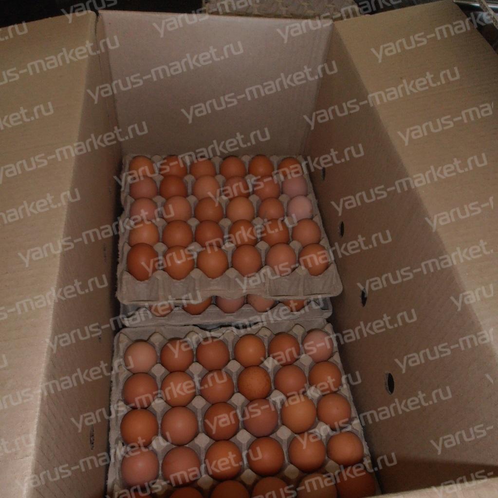 Гофрокороб под куриные яйца, 630x320x340 мм.