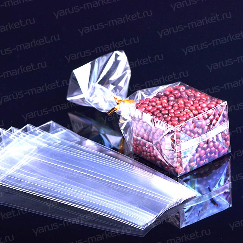 прозрачный пакет для крупы