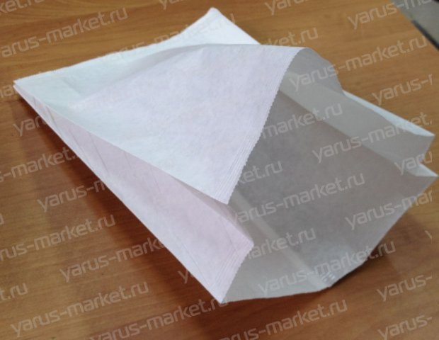 V-пакет для выпечки, белый, 25×17×7 см., для хранения хлебобулочных изделий