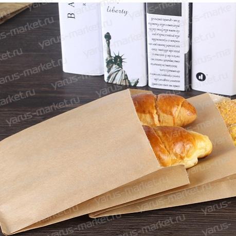V-пакет для выпечки, крафт, 30х10х6 см